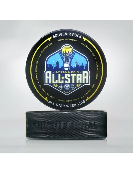 Puck KHL All Star 2018 Astana MZS-2018 KHL KHL FAN SHOP – hockey fan gear, apparel and souvenirs