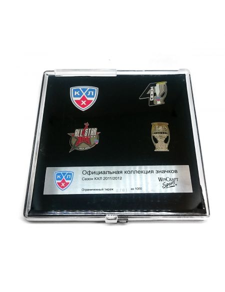 KHL pin set 4th season  Pins KHL FAN SHOP – hockey fan gear, apparel and souvenirs