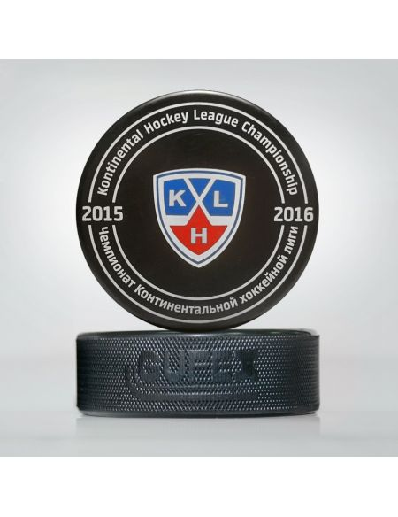 Game puck 8th season 2015-2016. EU  Pucks KHL FAN SHOP – Hockey Fan Ausrüstung, Kleidung und Souvenirs
