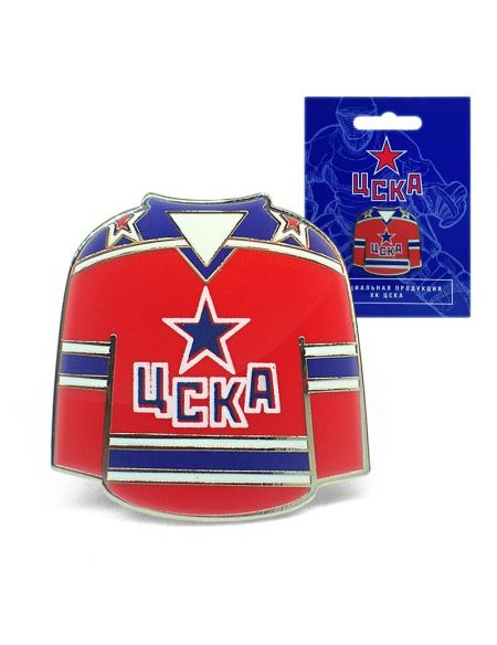 Pin CSKA HC0016 Home KHL FAN SHOP – hockey fan gear, apparel and souvenirs