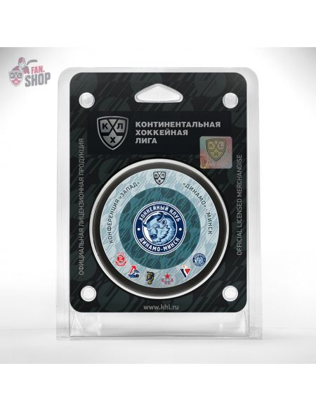 Puck Dinamo Minsk  Dinamo Mn KHL FAN SHOP – hockey fan gear, apparel and souvenirs