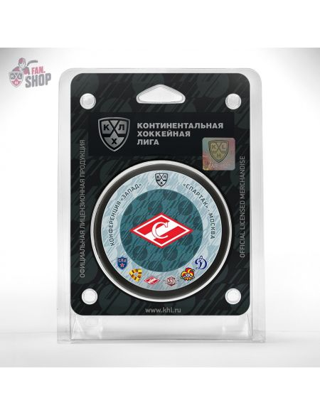 Puck Spartak  Spartak KHL FAN SHOP – hockey fan gear, apparel and souvenirs