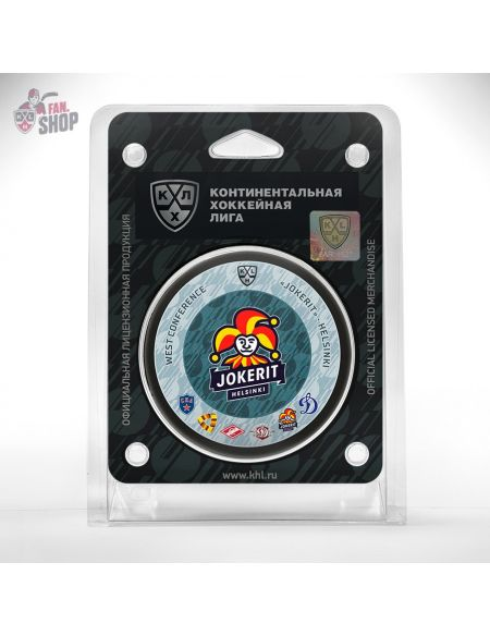 Puck Jokerit  Jokerit KHL FAN SHOP – hockey fan gear, apparel and souvenirs