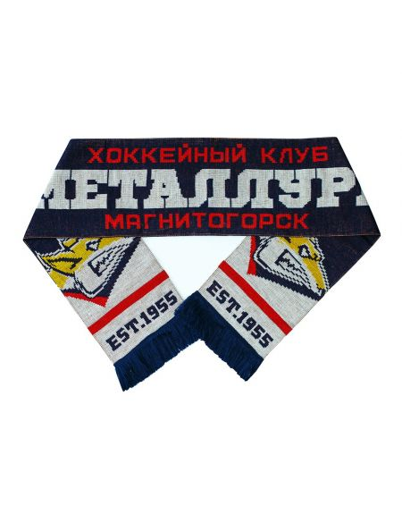 Scarf Metallurg Magnitogorsk MMG-2000000001804 Metallurg Mg KHL FAN SHOP – hockey fan gear, apparel and souvenirs