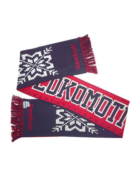 Scarf Lokomotiv Reebok001 Lokomotiv KHL FAN SHOP – hockey fan gear, apparel and souvenirs