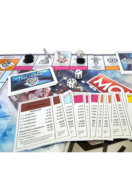 Board game Monopoly KHL  KHL KHL FAN SHOP – hockey fan gear, apparel and souvenirs