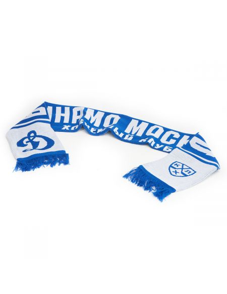 Scarf HC Dynamo Moscow 5742 Scarves KHL FAN SHOP – hockey fan gear, apparel and souvenirs
