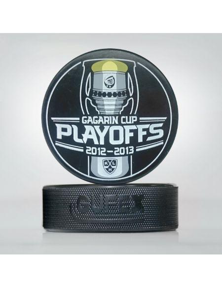 KHL playoff game puck, saison 2012-2013 (eng)  Startseite KHL FAN SHOP – Hockey Fan Ausrüstung, Kleidung und Souvenirs