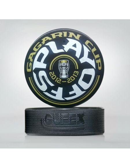 KHL playoff puck, saison 2012-2013 (eng)  Startseite KHL FAN SHOP – Hockey Fan Ausrüstung, Kleidung und Souvenirs