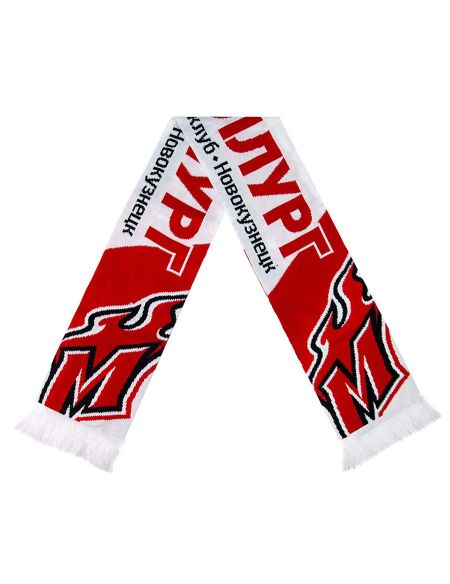 Scarf Metallurg Novokuznetsk MNK001 Metallurg Nk KHL FAN SHOP – hockey fan gear, apparel and souvenirs