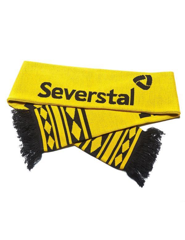 Scarf Severstal SSCH001 Severstal KHL FAN SHOP – hockey fan gear, apparel and souvenirs