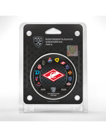 Puck Spartak season 2019/2020  Spartak KHL FAN SHOP – hockey fan gear, apparel and souvenirs