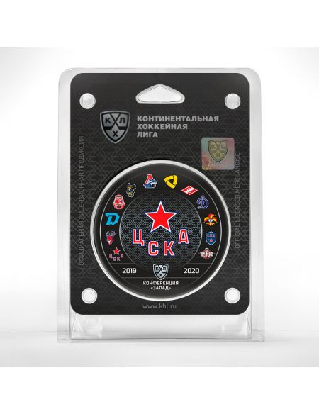 Puck CSKA season 2019/2020  Pucks KHL FAN SHOP – hockey fan gear, apparel and souvenirs
