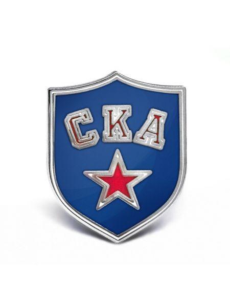 Значок СКА SK-0001 Главная КХЛ ФАН МАГАЗИН – фанатская атрибутика, одежда и сувениры