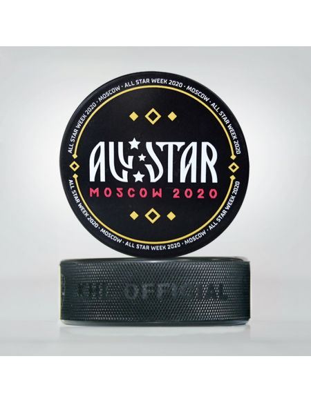 Puck KHL All Star 2020 Moscow AS2020-1 Pucks KHL FAN SHOP – hockey fan gear, apparel and souvenirs