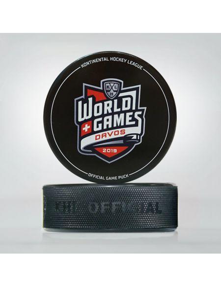 Шайба World Games Davos  Шайбы КХЛ ФАН МАГАЗИН – фанатская атрибутика, одежда и сувениры