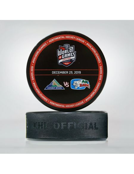 Souvenir puck World Games Davos  Pucks KHL FAN SHOP – hockey fan gear, apparel and souvenirs