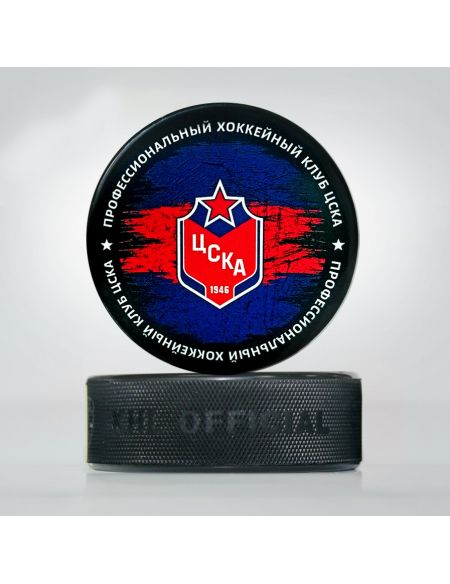 Puck CSKA 19005 Pucks KHL FAN SHOP – hockey fan gear, apparel and souvenirs