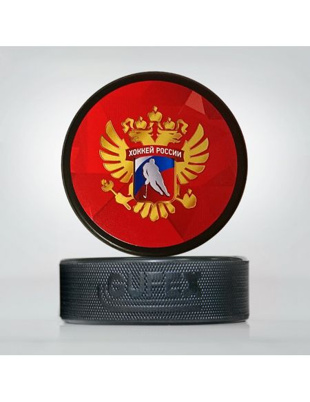 Puck Russia Hockey 9006 Pucks KHL FAN SHOP – hockey fan gear, apparel and souvenirs