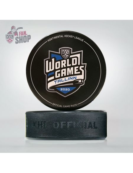 Puck World Games Tallinn 2020 WGT-2020 Pucks KHL FAN SHOP – hockey fan gear, apparel and souvenirs