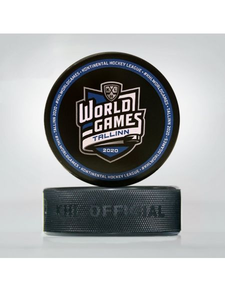 Puck World Games Tallinn 2020 WGT-2020S Pucks KHL FAN SHOP – hockey fan gear, apparel and souvenirs