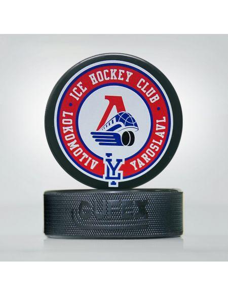 Puck Lokomotiv Yaroslavl LKMTV-2 Pucks KHL FAN SHOP – hockey fan gear, apparel and souvenirs