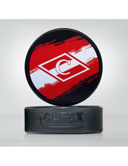 Puck Spartak SPRTK-1 Spartak KHL FAN SHOP – hockey fan gear, apparel and souvenirs