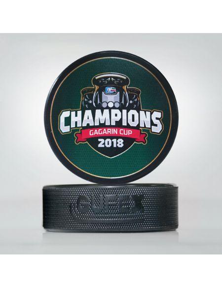 Шайба Ак Барс Чемпионы 2018 KBRS-1 Шайбы КХЛ ФАН МАГАЗИН – фанатская атрибутика, одежда и сувениры