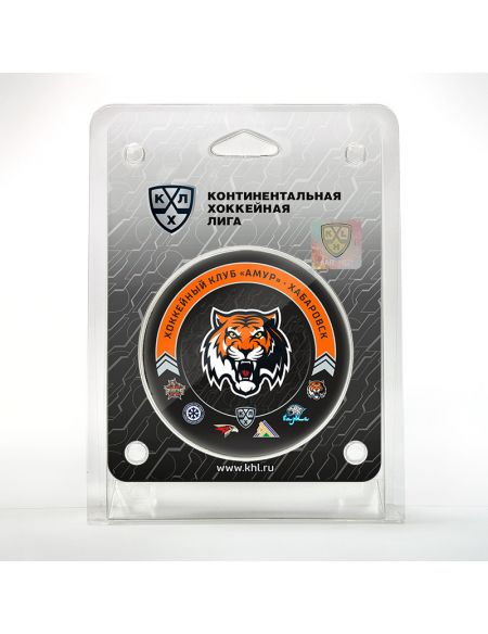 Puck Amur season 2020/2021 MR2021 Amur KHL FAN SHOP – hockey fan gear, apparel and souvenirs