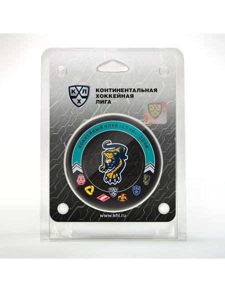 Шайба Сочи 2020/2021 SCH2021 Сочи КХЛ ФАН МАГАЗИН – фанатская атрибутика, одежда и сувениры