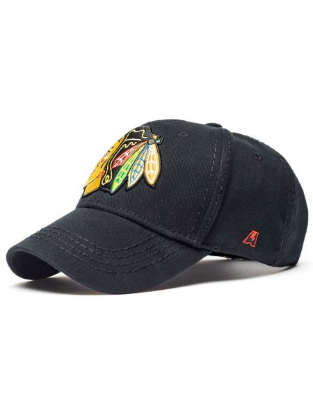 Бейсболка Chicago Blackhawks 29091 Chicago Blackhawks КХЛ ФАН МАГАЗИН – фанатская атрибутика, одежда и сувениры