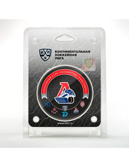 Puck Lokomotiv Yaroslavl 2020/2021 LKMTV2021 Pucks KHL FAN SHOP – hockey fan gear, apparel and souvenirs