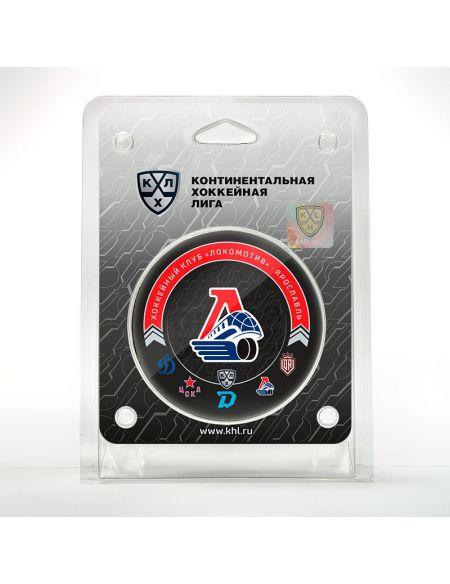 Puck Lokomotiv Yaroslavl 2020/2021 LKMTV2021 Pucks KHL FAN SHOP – hockey fan gear, apparel and souvenirs