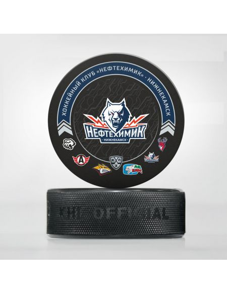 Puck Neftekhimik 2020/2021 NFTKHMK2021 Pucks KHL FAN SHOP – hockey fan gear, apparel and souvenirs