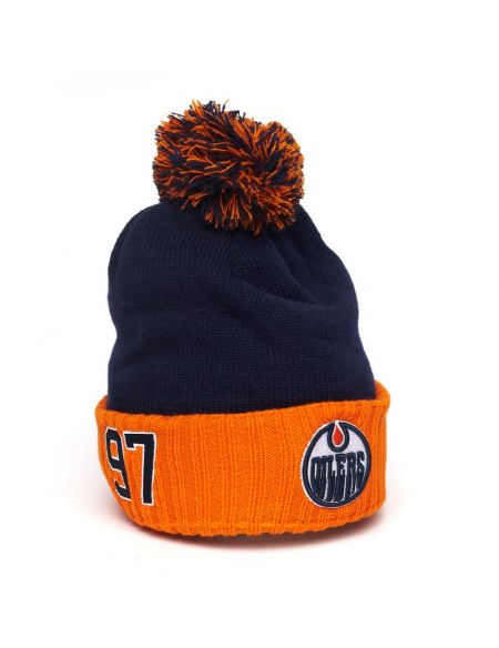 Шапка Edmonton Oilers №97 Макдэвид 59239 Edmonton Oilers КХЛ ФАН МАГАЗИН – фанатская атрибутика, одежда и сувениры