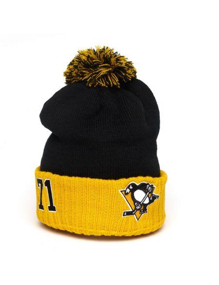 Шапка Pittsburgh Penguins №71 Малкин 59255 Шапки КХЛ ФАН МАГАЗИН – фанатская атрибутика, одежда и сувениры