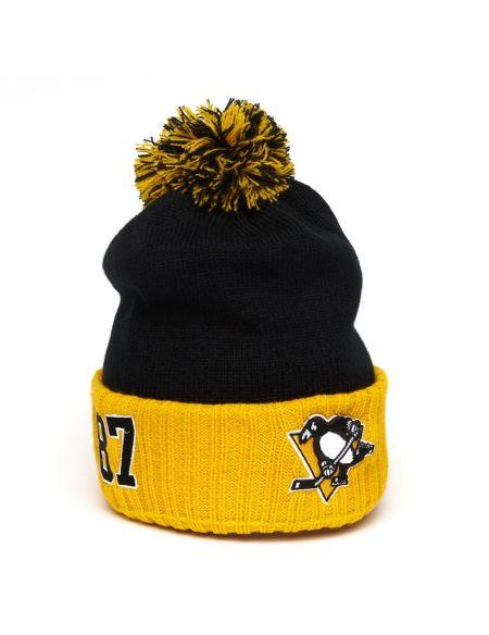Шапка Pittsburgh Penguins №87 Кросби 59256 Шапки КХЛ ФАН МАГАЗИН – фанатская атрибутика, одежда и сувениры