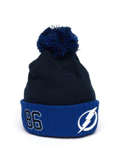 Hat Tampa Bay Lightning №86 Nikita Kucherov 59265 Tampa Bay Lightning KHL FAN SHOP – hockey fan gear, apparel and souvenirs