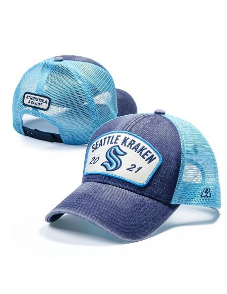 Бейсболка Seattle Kraken 31382 Бейсболки КХЛ ФАН МАГАЗИН – фанатская атрибутика, одежда и сувениры