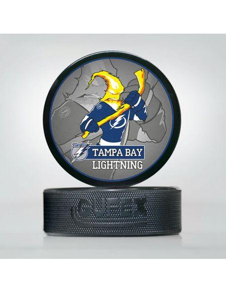 Шайба NHL Tampa Bay Lightning TBL-02 Шайбы КХЛ ФАН МАГАЗИН – фанатская атрибутика, одежда и сувениры