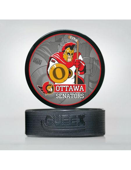 Puck NHL Ottawa Senators OSE-02 Pucks KHL FAN SHOP – hockey fan gear, apparel and souvenirs