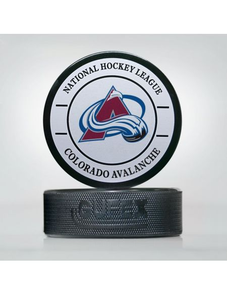 Puck NHL Colorado Avalanche CAV-01 Pucks KHL FAN SHOP – hockey fan gear, apparel and souvenirs