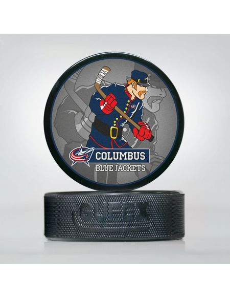 Puck NHL Columbus Blue Jackets CBJ-02 Pucks KHL FAN SHOP – hockey fan gear, apparel and souvenirs