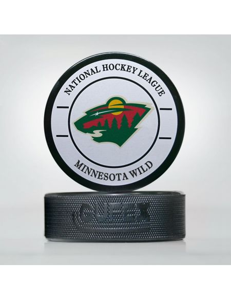 Puck NHL Minnesota Wild MWI-01 Pucks KHL FAN SHOP – hockey fan gear, apparel and souvenirs