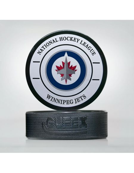 Puck NHL Winnipeg Jets WJE-01 Pucks KHL FAN SHOP – hockey fan gear, apparel and souvenirs