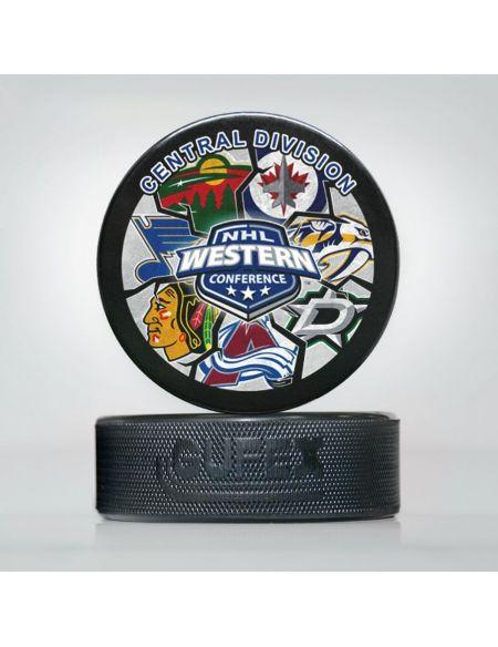 Puck NHL Central Division NHL-03 Pucks KHL FAN SHOP – hockey fan gear, apparel and souvenirs