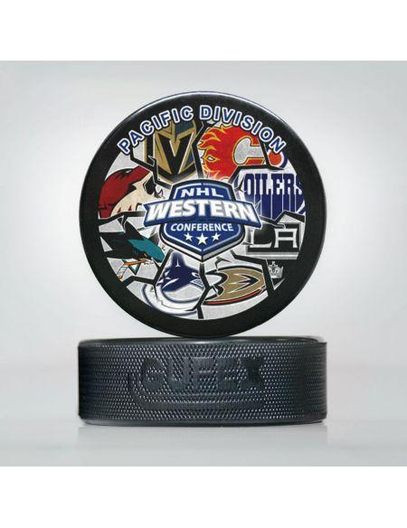 Puck NHL Pacific Division NHL-04 Pucks KHL FAN SHOP – hockey fan gear, apparel and souvenirs