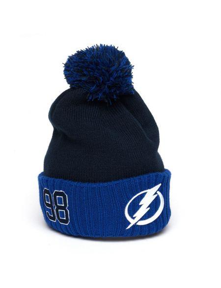 Hat Tampa Bay Lightning №98 Mikhail Sergachev 59267 Tampa Bay Lightning KHL FAN SHOP – hockey fan gear, apparel and souvenirs