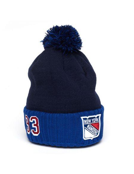 Mütze New York Rangers №93 Mika Zibanejad 59249 New York Rangers KHL FAN SHOP – Hockey Fan Ausrüstung, Kleidung und Souvenirs