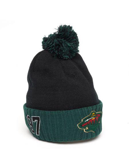 Hat Minnesota Wild №97 Kirill Kaprizov 59297 Hats KHL FAN SHOP – hockey fan gear, apparel and souvenirs